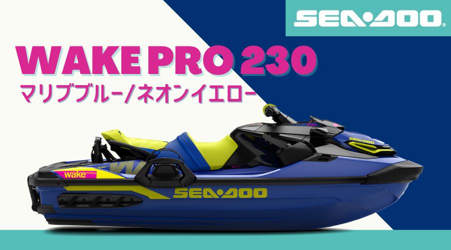 SEA-DOO2021-WAKE PRO 230